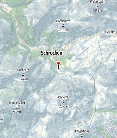 Karte / 52 Älpele, Älpeles Berg