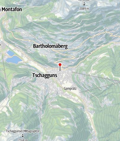 Karte / Ehemaliges Kurhotel
