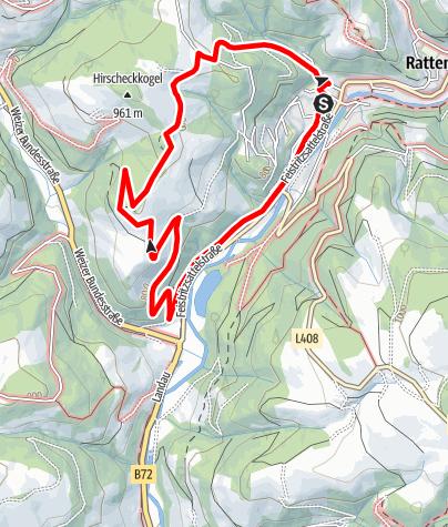 Karte / Mondweg