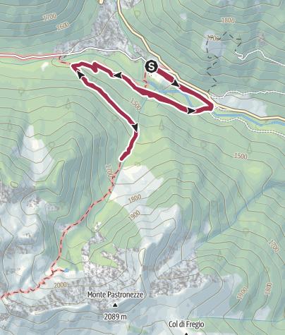 Cartina / Passeggiata Sentiero Natura - L'Oasi WWF di Valtrigona