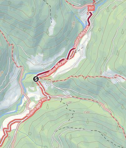Cartina / Passeggiata sentiero dell'acqua