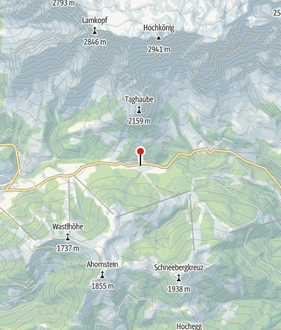 Karte / Mittereggalm