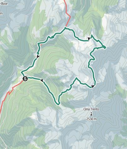 Cartina / Trekking del Monte Cengello