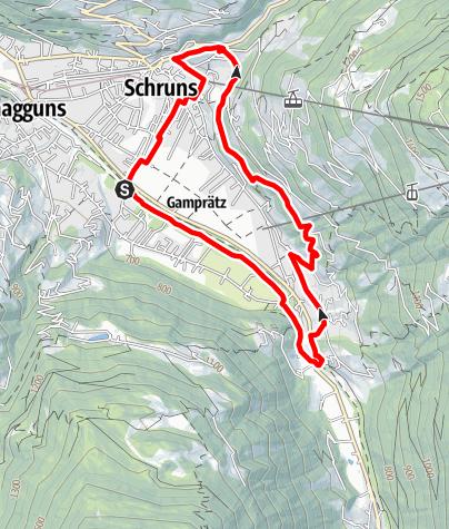 Karte / Buchenwald-Schleife