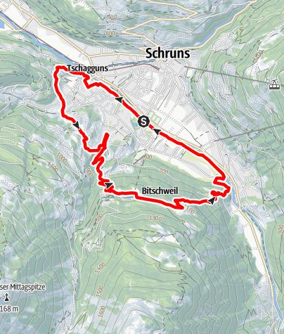 Karte / Bitschweil Loop