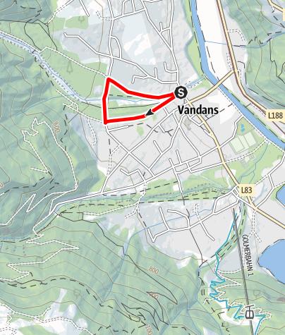 Kaart / Fitnessparcours Vandans