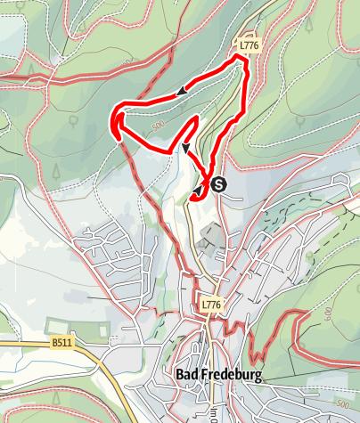 Map / Bad Fredeburger Walderlebnispfad