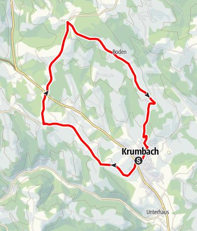 Térkép / Aussichtsroute - E-Bike