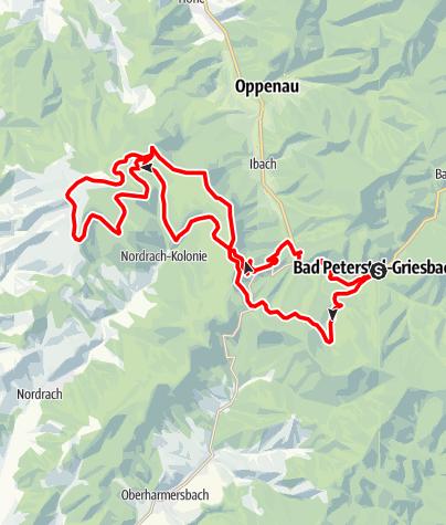 Karte / E-Bike - Tour: Zum Moosturm