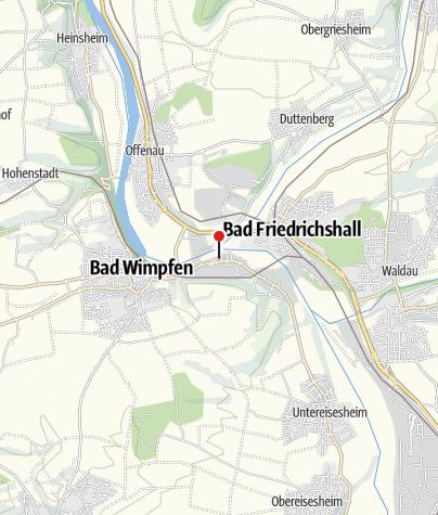 Karte / Ritterstiftskirche - Kloster Bad Wimpfen im Tal