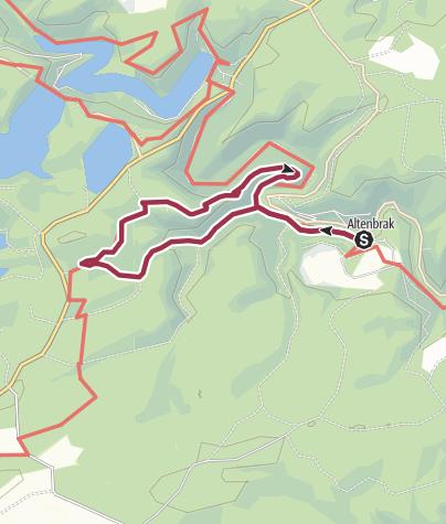 Map / Rundwanderung zur Schöneburg