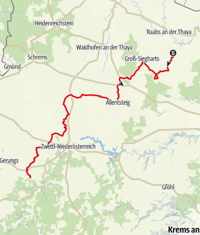 Karte / Bandlkramer-Radweg