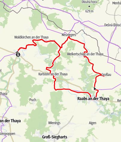 Karte / Graselweg-Thayaland - Runde 1