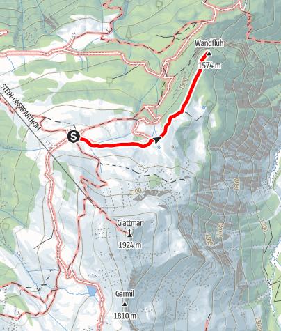 Karte / Wandfluh