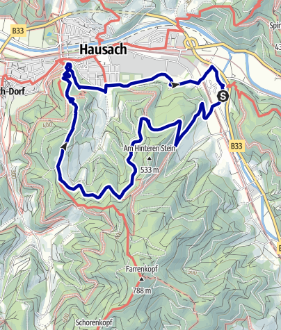 Karte / Gutach -  Vom Turm zum Turm