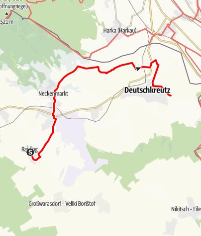 Karte / Die große  ORF  Burgenlandtour - Tag 3