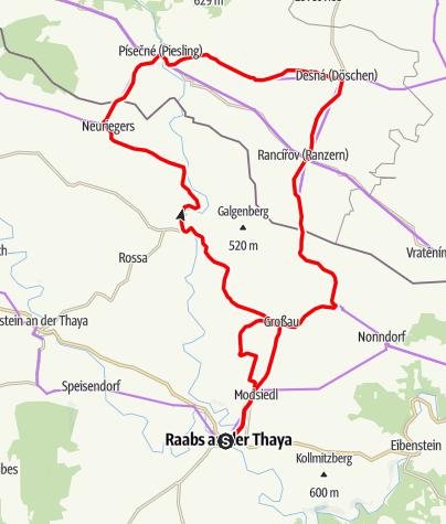 Mapa / Biken E-88 Tour 1