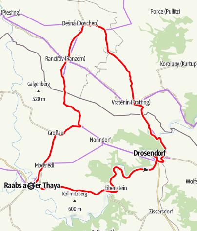 Mapa / Biken E-88 Tour 2