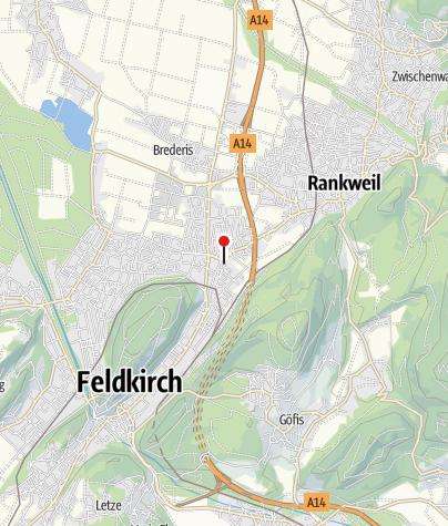 Karte / Feldkirch - Altenstadt, Pfarrkirche Heilige Pankratius und Zeno
