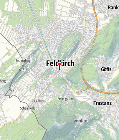 Karte / Feldkirch, Frauenkirche