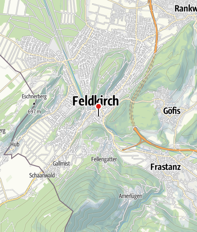 Karte / Feldkirch, Filialkirche Heiliger Johannes der Täufer