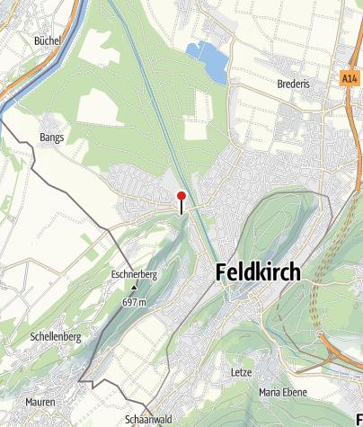 Karte / Feldkirch-Nofels, Pfarrkirche Unsere Liebe Frau Mariä Heimsuchung