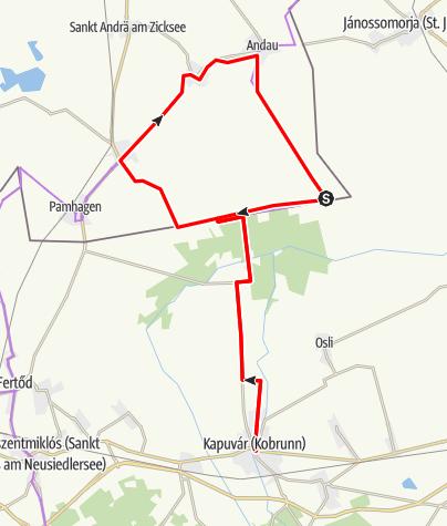 Karte / Erweiterung Hansag Radweg