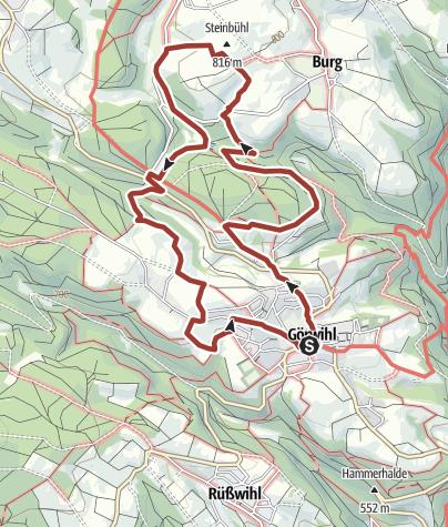 Karte / Görwihl: Ökoregio-Tour