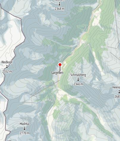 Kaart / Gasthof - Pension Wulfenia