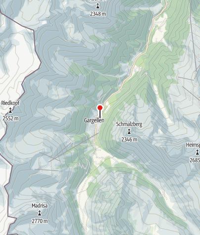 Kaart / Alpenhaus Montafon