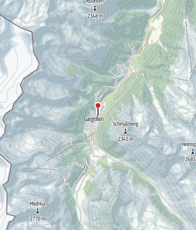 Karte / Hotel Silvretta