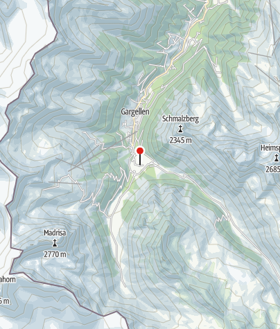 Karte / Berghotel Vergalden