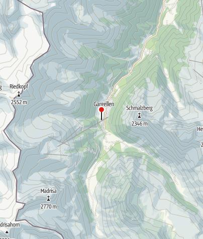 Karte / Ferienpark Landal Hochmontafon