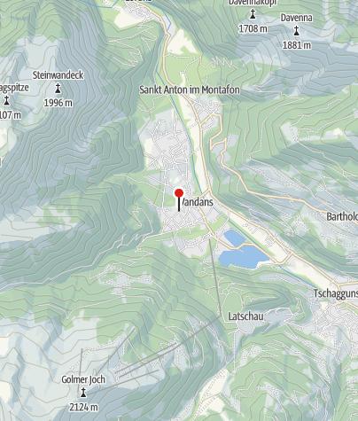 Karte / Gästehaus Banella