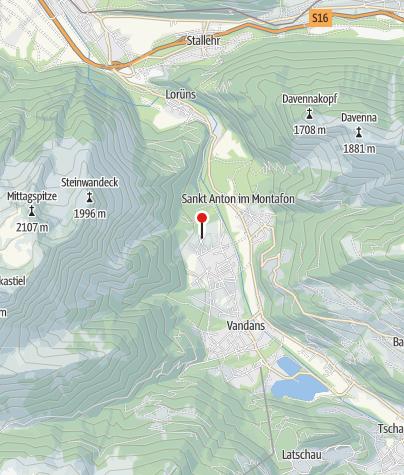 Karte / Appartement Montafon
