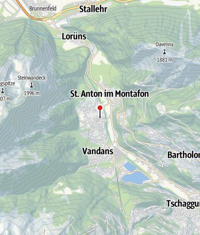 Karte / Chalet Montafon