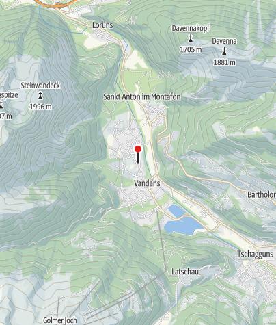 Karte / Val-Castiel