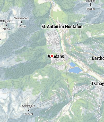 Karte / Gasthof Klein Tirol