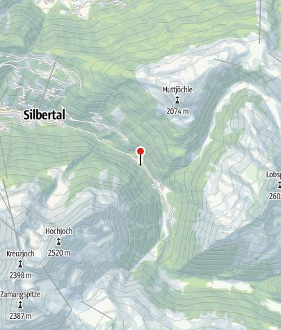 Karte / Chalet Hubertusstube