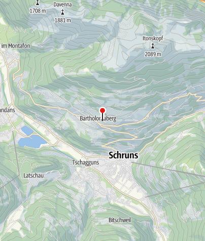 Karte / Haus Battlogg