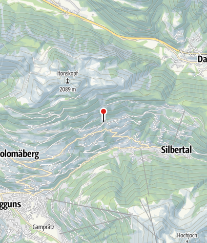 Karte / Ferienhaus Tschateng