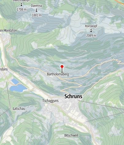 Kaart / Ferienhaus am Waldrand