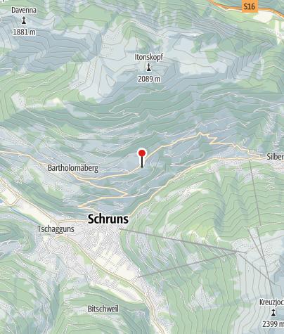 Karte / Hotel Fernblick Bartholomäberg