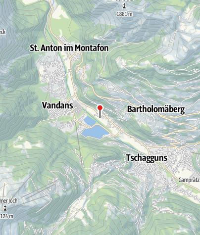 Karte / Rätikon Camping