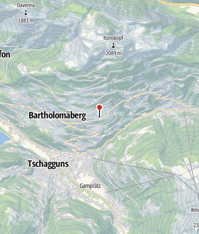 Karte / Ganahl Gertrud