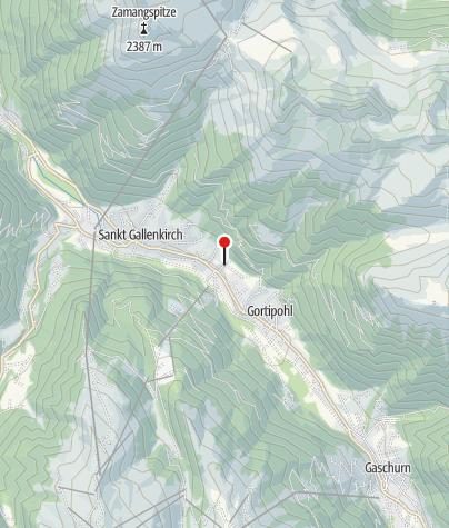 Karte / Vallaster - Haus Sabina