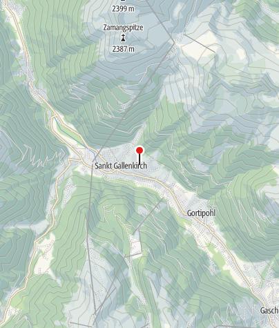 Karte / Haus Pazze Nova