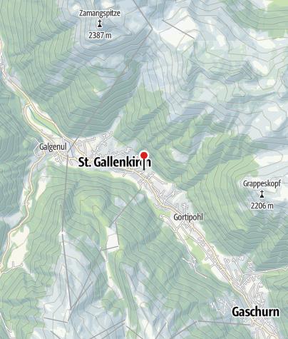 Karte / Ferienhaus Enzian