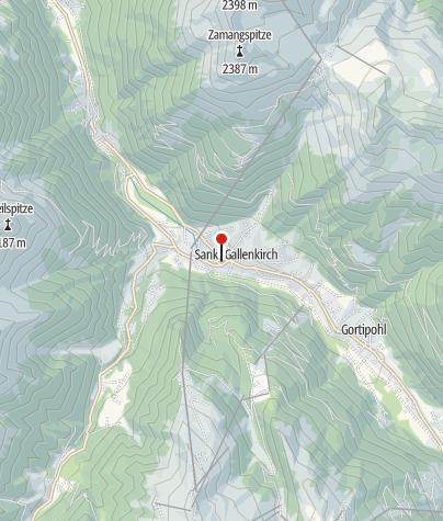 Karte / Alpenhaus Montiel
