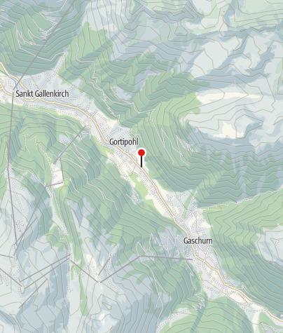 Kaart / Gasthaus Muntafuner Stöbli